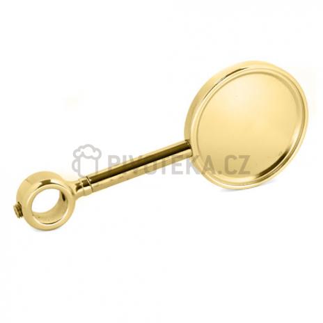 Držák plaket zlato prodloužený