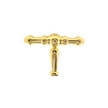 Stojan benelux 5x otvor zlato