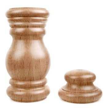 Stojan Baroko dřevěný buk lak  (tělo)