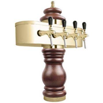 Stojan Baroko 4x kohout zlato l - 450