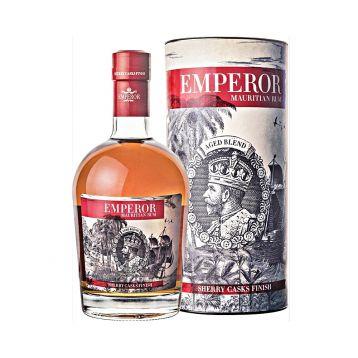 Emperor Rum Sherry Finish 0,7l tuba 40%