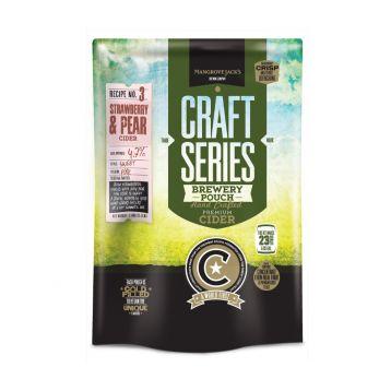 Cider Mangrove Jack´s  jahoda a hruška koncentrát 1,8kg