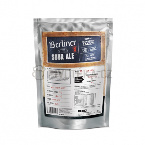 Craft Serie Berliner Style Sour Ale 1,8kg Mangrove Jack´s koncentrát