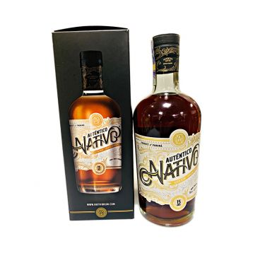 Nativo Autentico  15 Y.O.  0,7l 40%