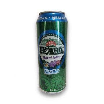 Holba horské byliny nealko  0,5l plech
