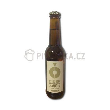 Cider magnetic apple jablečný premium 6% 0,33l