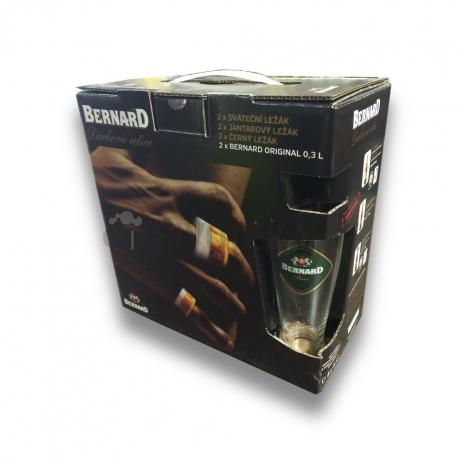 Bernard multipack 6 x 0,5l+ 2x sklo