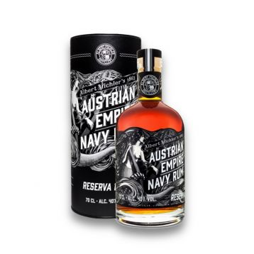 Austrian empire navy rum 1863  0,7l 40%
