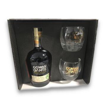 El comandante reserva exklusiva dárkové balení + skleničky 0,7l 40%