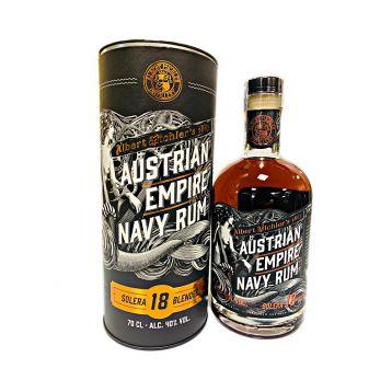 Austrian empire Navy rum 18y tuba  0,7l 40%