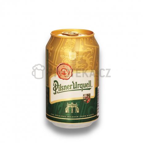 Pilsner urquel 12° 0,33l plech