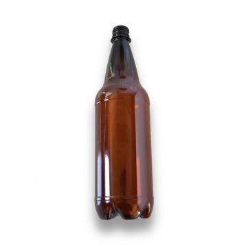 PET láhve  hnědé 1l bez uzávěru