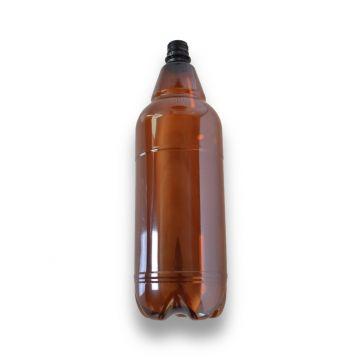 PET láhve  hnědé  2l bez uzávěru