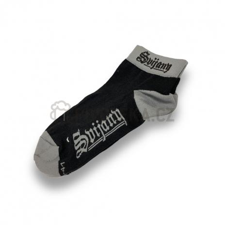 Ponožky černé vel. 11-13 Svijany