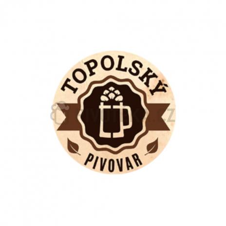 Topolský Jaroslav 13° 0,5l točené pivo  0,5l