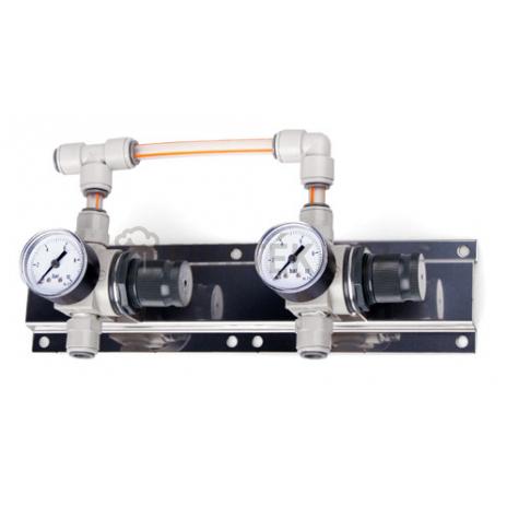 Panel regulace tlaku 2 stupně