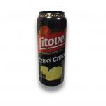 Černý citron  0,5l plech Litovel