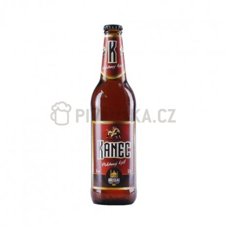 Kanec polotmavá 12°  0,5l pivovar Břeclav