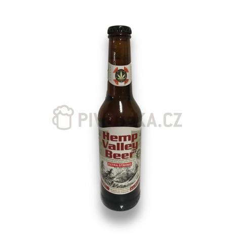 Hemp valley extra strong beer 18° 0,33l Nová paka