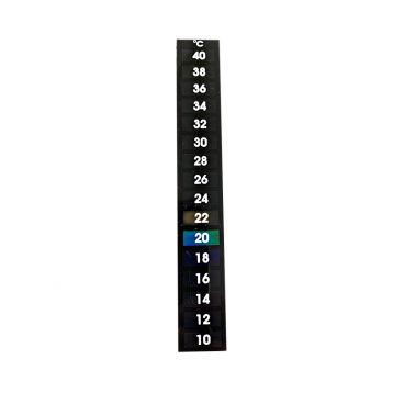 Samolepící teploměr 10°C – 40°C