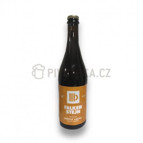 Světlá 11°  0,7l pivovar Falkenštejn