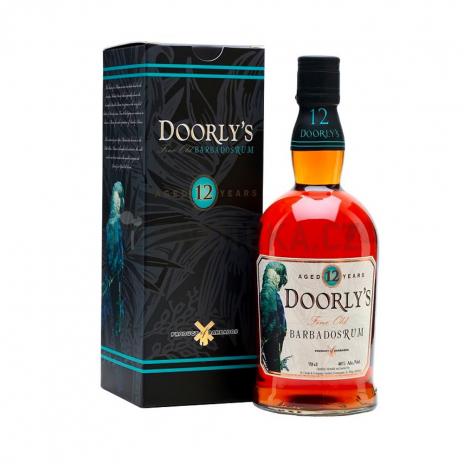 Doorlys 12 Y.O. Rum  0,7l 40%