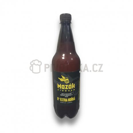 Světlá extra hořká 11°  0,7l PET pivovar Mazák