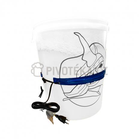 Ohřívací pás na plastovou nádobu