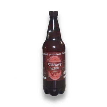 Višňový ležák 11° PET 1l Beskydský pivovárek