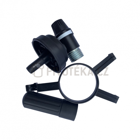 Tlakovací ventil C02 (16g) 5l soudku