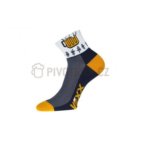 Cyklistické pivní ponožky velikost 39-42