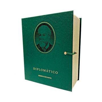 Diplomatico reserva exklusiva 12 Kniha dárkové balení 0,7l 40%