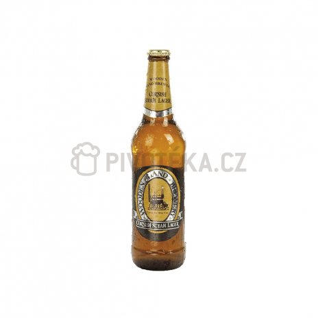 Cornish steam lager 12,5° 0,5l Žatec