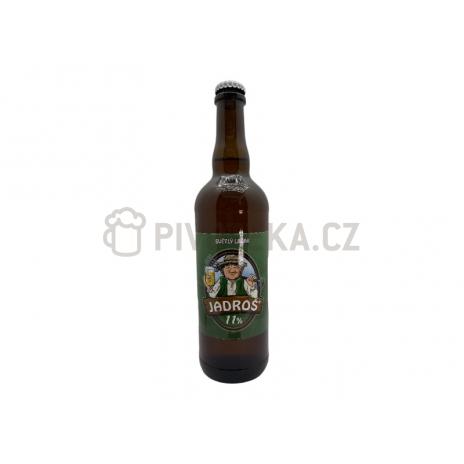 Jadroš 11°  1l PET pivovar Jadrníček