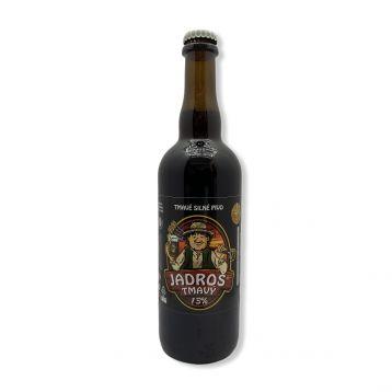Tmavý jadroš 13° 1l PET pivovar Jadrníček